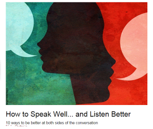HOW TO SPEAK WELL Capture